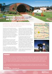 Charleville Cosmos Centre and Visitor Information Centre - Tourism ...