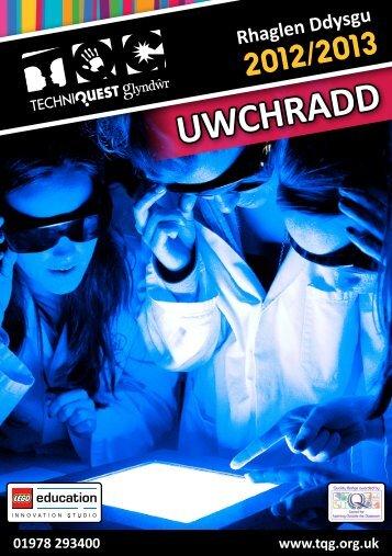 TQG Rhaglen Ddysgu 2012/13 - Uwchradd