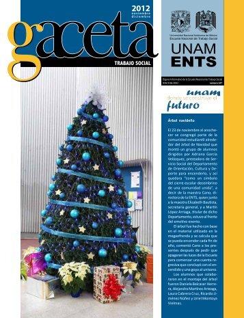 Gaceta 147 - Escuela Nacional de Trabajo Social - UNAM