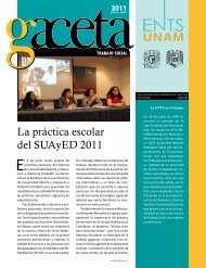 La práctica escolar del SUAyED 2011 - Escuela Nacional de ...