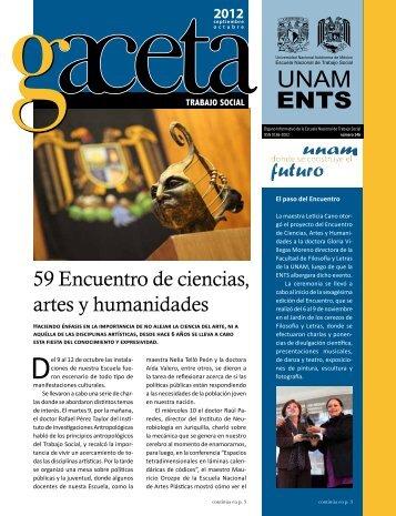 Gaceta 146 - Escuela Nacional de Trabajo Social - UNAM