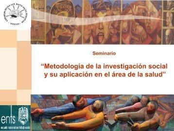Diapositiva 1 - Escuela Nacional de Trabajo Social - UNAM