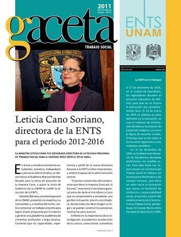 Leticia Cano Soriano, directora de la ENTS - Escuela Nacional de ...