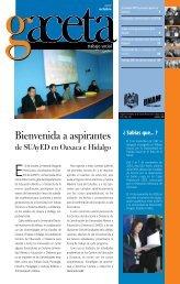Bienvenida a aspirantes - Escuela Nacional de Trabajo Social ...