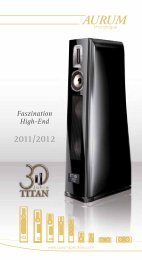 Faszination High-End 2011/2012 - quadral