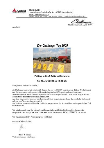 challenger_feldtag_0.. - ACA Group