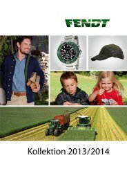 Fendt Kollektion 2013/2014 - ACA Group