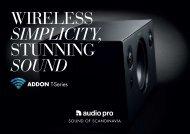 ADDON T-Series - Audio Pro