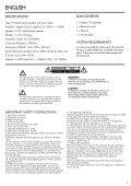 ADDON T10 - Audio Pro - Page 3
