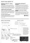 ADDON T10 - Audio Pro - Page 4
