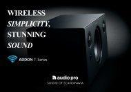 Addon T10 Broschüre - Audio Pro