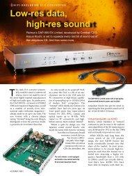 DAP-999 EX Limited [pdf] - Audio Note Singapore