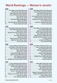 World Rankings — Women's Javelin - Track & Field News - Page 5