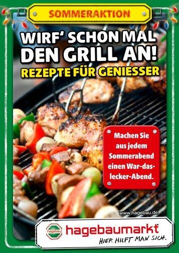 den gRill an! -  hagebaumarkt Ahrensburg