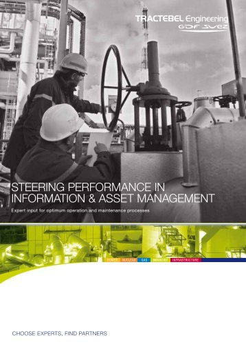 steering performance in information & asset management