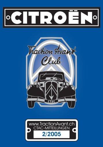 Untitled - Citroen Traction Avant Club Switzerland