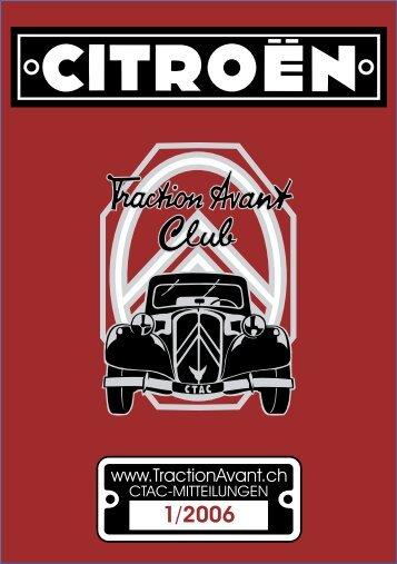 Aus-Flug - Citroen Traction Avant Club Switzerland
