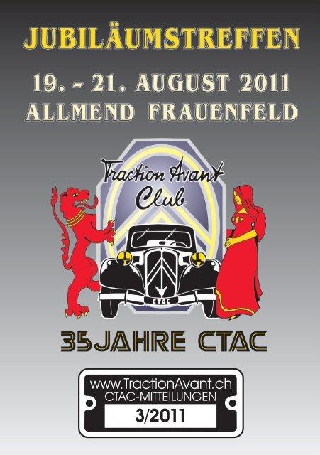 Feste & Feiern - Citroen Traction Avant Club Switzerland