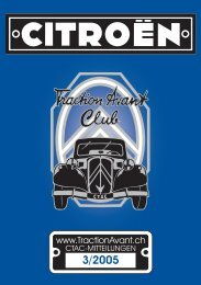 6. August 2005 - Citroen Traction Avant Club Switzerland