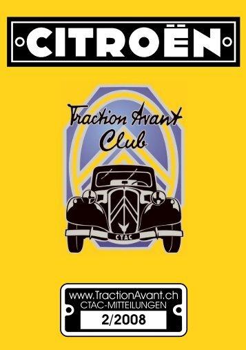 2/2008 - Citroen Traction Avant Club Switzerland