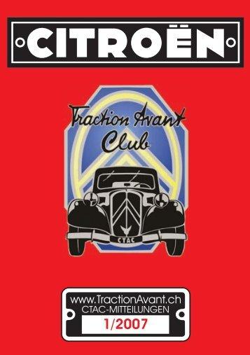 Anmeldung - Citroen Traction Avant Club Switzerland