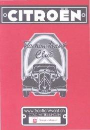 12 - Citroen Traction Avant Club Switzerland