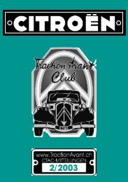CTAC Clubheft Indesign 2_03.indd - Citroen Traction Avant Club ...