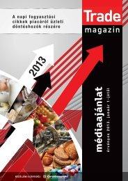 2013. január 1-jétől - Trade magazin