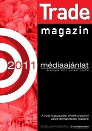 médiaajánlat - Trade magazin