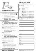 Eseménynaptár 2013 Jelentkezés 2013 - Trade magazin - Page 2