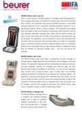 Massage highlights at home: Beurer is redefining the feeling of well ... - Page 2