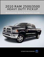 2010 RAM 2500/3500 - Fleet.Chrysler.com