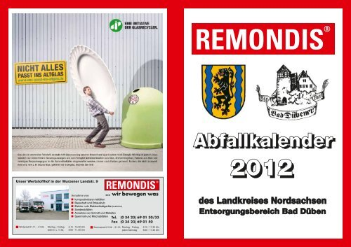 Abfallkalender BD 12 - Bad Düben