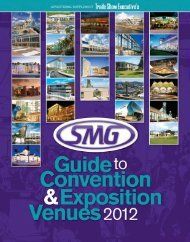 TSE's SMG 2012 Guide to Convention and Exposition Venues