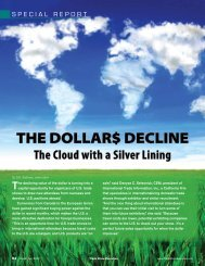The Dollar$ Decline - Trade Show Executive