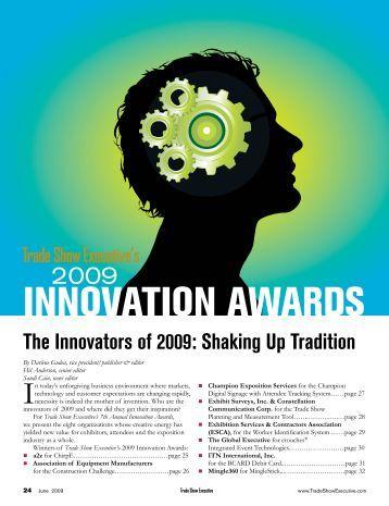 INNOVATION AWARDS - Trade Show Executive