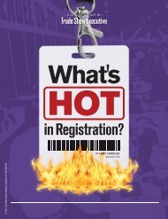 TSE's Special Report on What's Hot in Registration - Trade Show ...