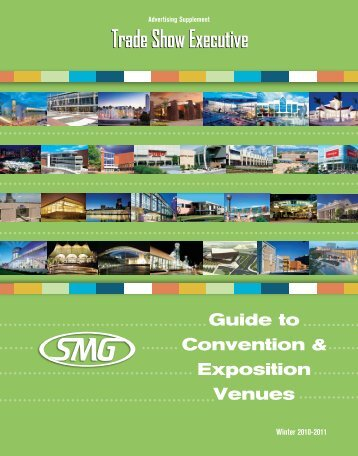 TSE's 2010 Guide to SMG Convention and Exposition Venues
