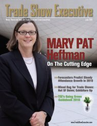 the July 2010 Issue in PDF Format - Trade Show Executive
