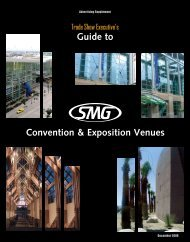 Convention & Exposition Venues Guide to - Trade Show Executive