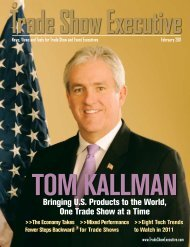 the February 2011 Issue in PDF Format - Trade Show Executive