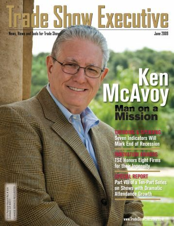 the June 2009 Issue in PDF Format - Trade Show Executive