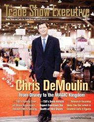the April 2011 Issue in PDF Format - Trade Show Executive