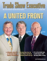 the September 2010 Issue in PDF Format - Trade Show Executive