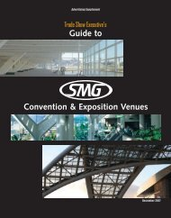 Convention & exposition venues - Trade Show Executive