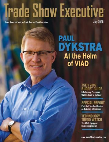 the July 2008 Issue in PDF Format - Trade Show Executive