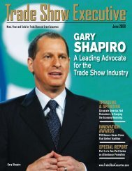 the June 2008 Issue in PDF Format - Trade Show Executive