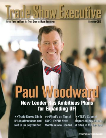 the November 2010 Issue in PDF Format - Trade Show Executive