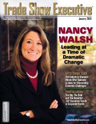 NaNcy Walsh - Trade Show Executive