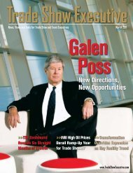 the March 2011 Issue in PDF Format - Trade Show Executive